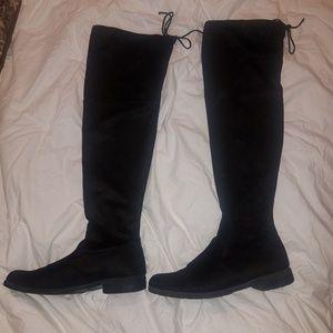 Unisa Over the Knee Black Boot